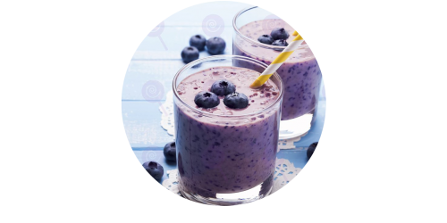 Blueberry Smoothie (WF)